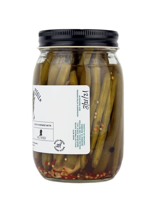 The Tipsy Pickle - Rectified Bourbon Beans - A Slice of Vermont