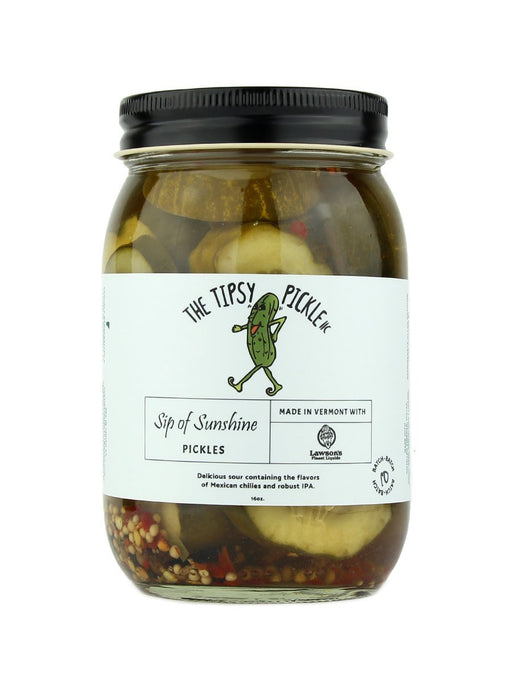 The Tipsy Pickle - Sip of Sunshine Pickles - A Slice of Vermont