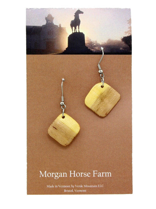 Verde Mountain - Morgan Horse Farm Earrings - A Slice of Vermont