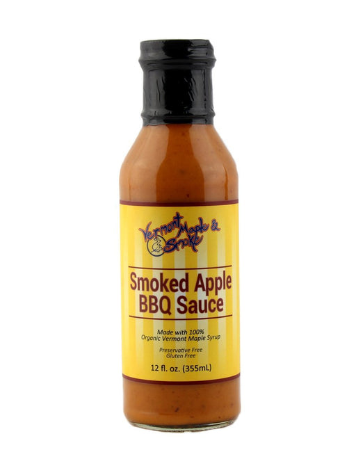 Vermont Smoke & Maple - Smoked Apple BBQ Sauce - A Slice of Vermont