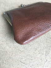 Load images into the gallery viewer,Anne number of 17 A little pouch (large) Chocolate by CLEDRAN