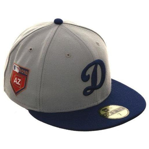 Exclusive New Era 59Fifty Los Angeles Dodgers 2018 Spring Training Patch Hat  - 2T Gray 63f6e2b5d66e