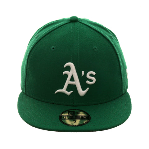 479c26f37c6e76 Authentic Collection New Era 59Fifty Oakland Athletics Alternate Hat
