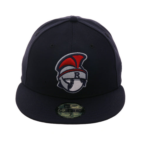 620a1cdfebb Exclusive New Era 59Fifty Rome Braves Batting Practice Hat - Navy