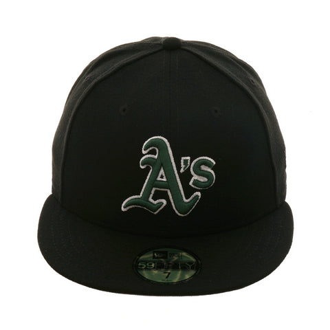 b064de67af0 Exclusive New Era 59Fifty Oakland Athletics 2000 Hat - Black