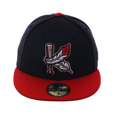 d6d01f49f79 Exclusive New Era 59Fifty Kinston Indians Hat - 2T Navy