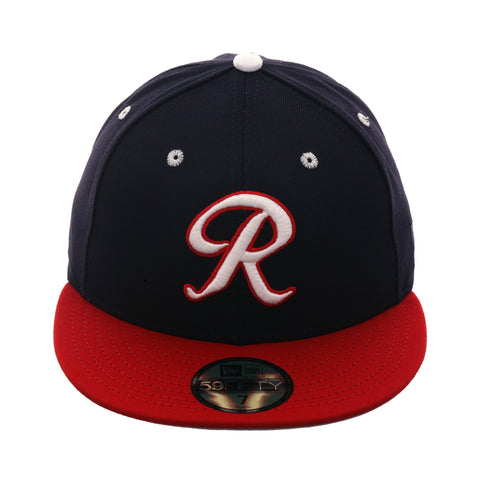 5bcb54c7939 Exclusive New Era 59Fifty Richmond Braves Hat - 2T Navy