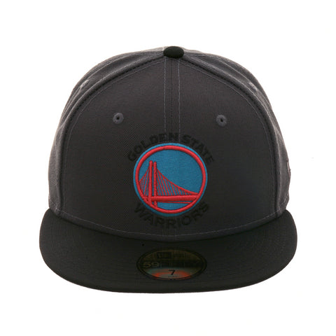 Exclusive New Era 59Fifty Golden State Warriors Hat - 2T Graphite cce30175a276