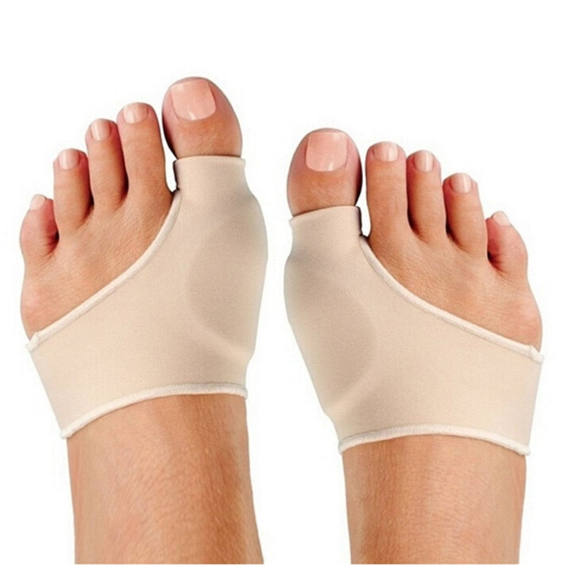 Bunion Gel Sleeve Hallux Valgus Device Foot Pain Relief  Care and Big Toe Correction