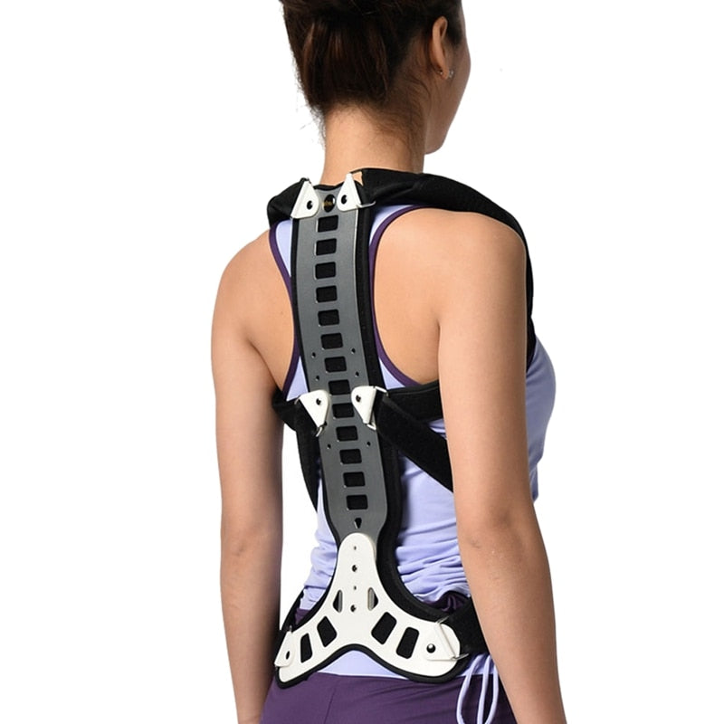 Posture Corrector Back And Shoulder Brace Support For Men Women -  Device To Improve Bad Posture