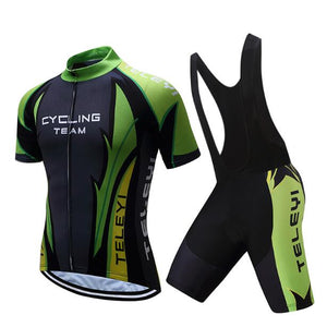 TELEYI Cycling 2020 Men Cycle Dress MTB Mallot Clothes Kit Road Bike Jersey Set Male Pro Team Bicycle Clothing sport suit kit
