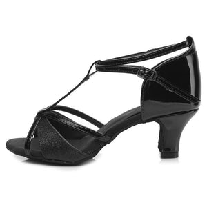 women Latin dance shoes new brand girls women's Ladie's latin ballroom tango salsa dance shoes about 5cm and 7cm heel wholesale