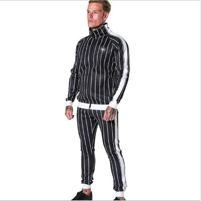 Men's Tracksuit Sports Suit  Fitness Compression Clothes Running Jogging Sport Wear Exercise Workout Tights