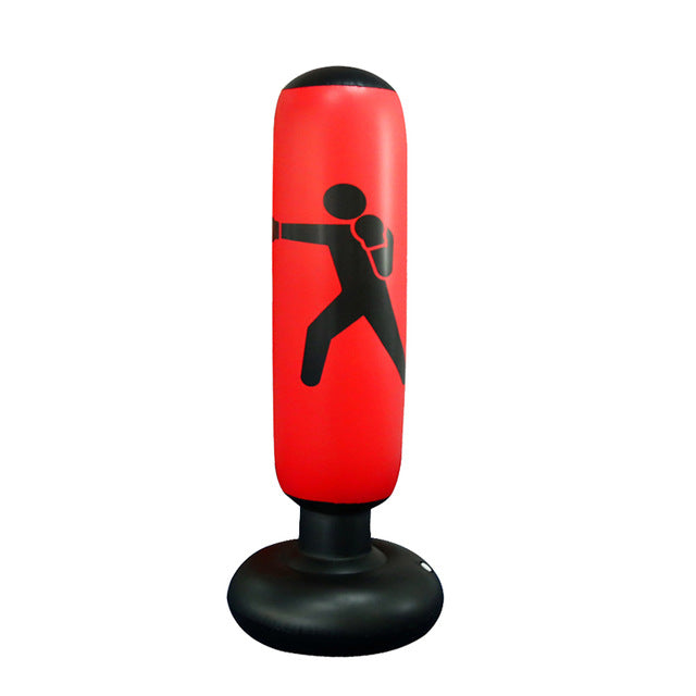 Boxing Punching Bag Inflatables Fitness Equipment MMA Training Taekwondo Punching Bag Venting Hit Boxing Bag Stand Weight