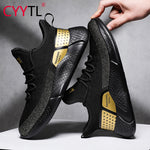 CYYTL Fashion Men comfort Shoes Summer Breathable Sport Sneakers Lightweight Casual Mesh Male Walking Shoe Sportschoenen Heren