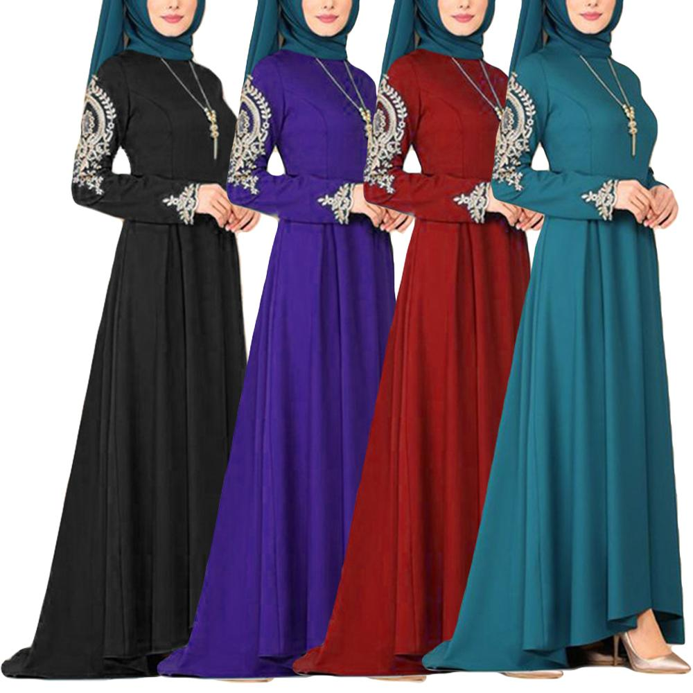 Muslim Abaya Ramadan Party Gown Dubai Kaftan Islamic Clothing Turkish Robe Morocco Caftan Evening Long Dresses Jilbab Vintage