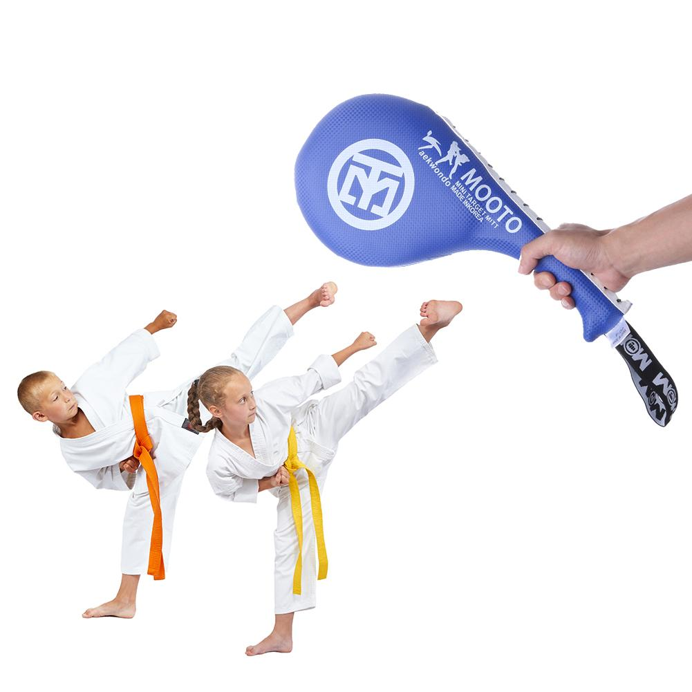 Kids Taekwondo Equipment Boxing Pad PU Rebound Sponge Training Pads Double Kick Pad Target Karate Kickboxing Training Fitness