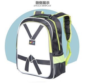 Taekwondo Backpack Bag Taekwondo Handbag Adult Kids Taekwondo Bag Equipment Package Protective Bag WTF Protector Bag GYM Bag