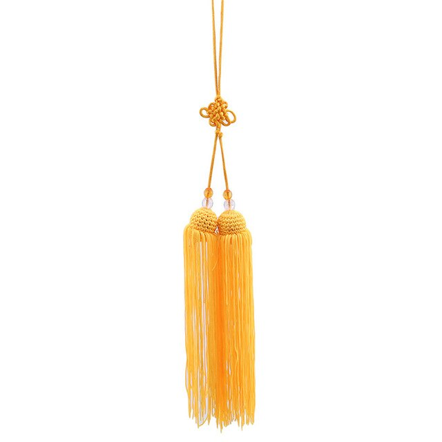 4 Colors Taiji Tassels Polyester High-grade Jiansui Taichi Martial Arts Competition Professional Use Sword Tassel