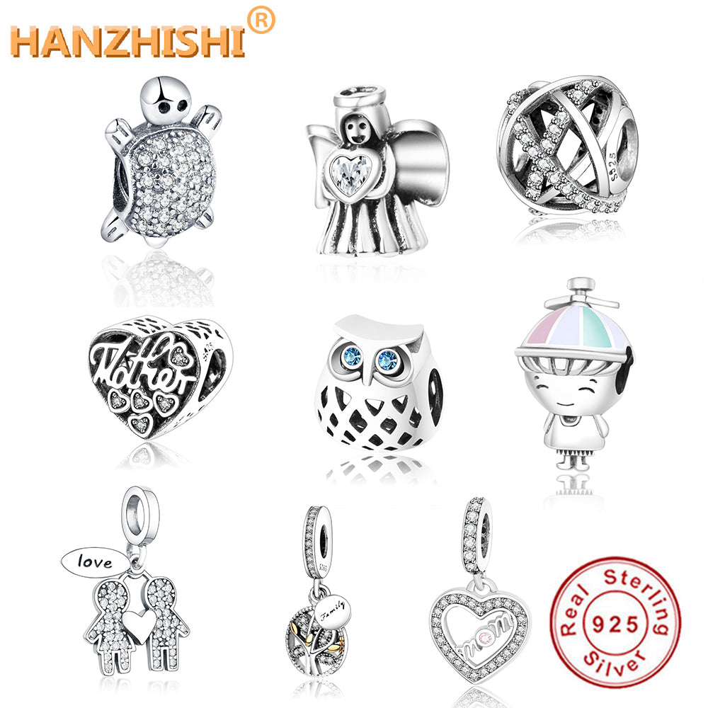 Fits Original Pandora Silver Charms Bracelet DIY Jewelry 2020 Summer Collection Openwork Charm 925 Sterling Silver Flower Beads