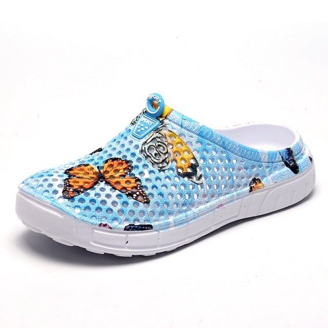 Womens casual Clogs Breathable beach sandals valentine slippers summer slip on women flip flops shoes home shoes for women