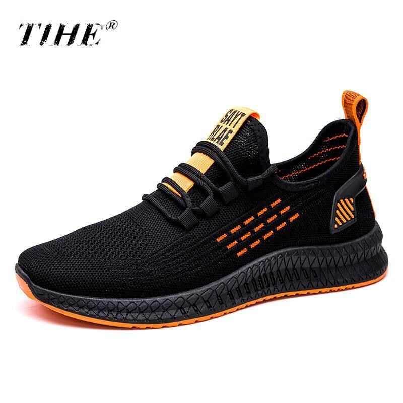2020 Outdoor Sneakers Men Tennis Shoes Air Mesh Mens Trainers Lightweight Gym Sport Shoes Mens Footware Trainers Tenis Masculino