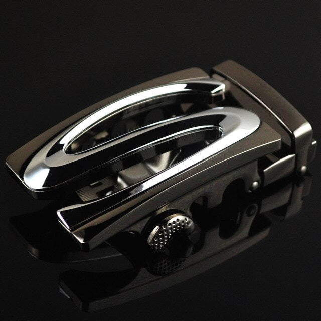 3.5cm Width Belt Buckles For Men Designer Brand Letter Luxury Brand Belt Genuine Leather Belt Metal Automatic Buckle CE88384