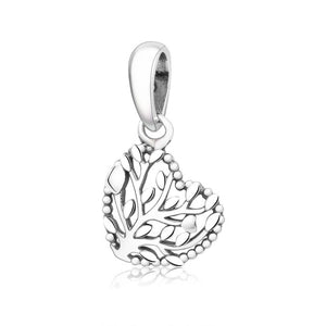 Winter Collection 100% Original Silver Cross Tree Crown Beads Fits Pandora Bracelet DIY Jewelry