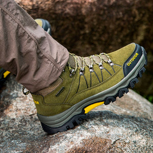 Men Hiking Shoes  Men Sport Shoes Outdoor Jogging Trekking Sneakers Non-slip Wear-resistant Travel Shoes