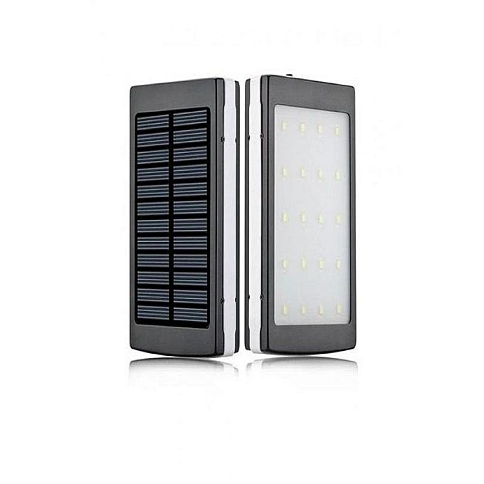 Solar Power Bank 20000Mah - Bahria Stores