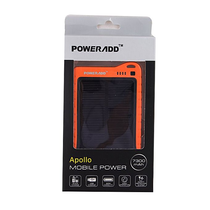 Solar Apollo Power 7300mAH - Bahria Stores