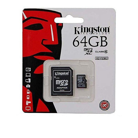 Kingston 64GB Memory Card - Bahria Stores