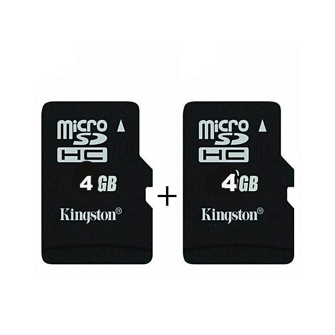 Kingston Pack of 2 4GB Memory Card - Bahria Stores