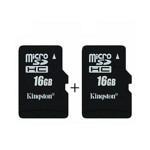 Kingston Pack Of 2 16GB Memory Card-Memory Card-Kingston-Bahria Stores