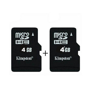 Kingston Pack of 2 4GB Memory Card-Memory Card-Kingston-Bahria Stores