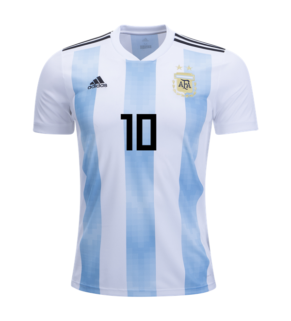 detailed look e9299 117b4 Messi Argentina World Cup 2018 Home Jersey