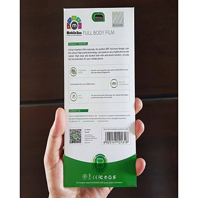 OPPO A83 360 Front Back Full Body Tpu Screen Guard Protector