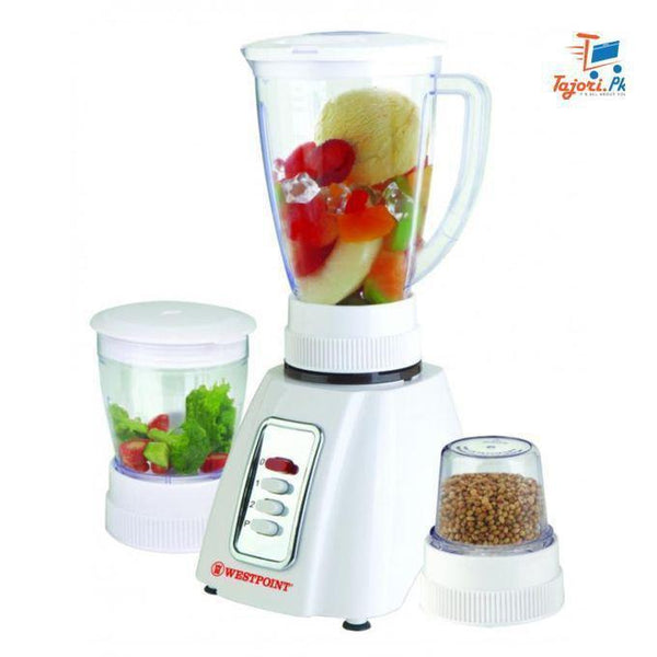 Westpoint - Blender Dry & Wet mill (3 in 1) (New Model) - WF-301