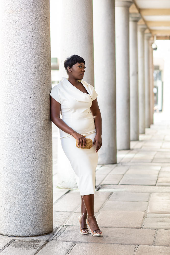 Coming Back Soon - Ivory Madam Dress