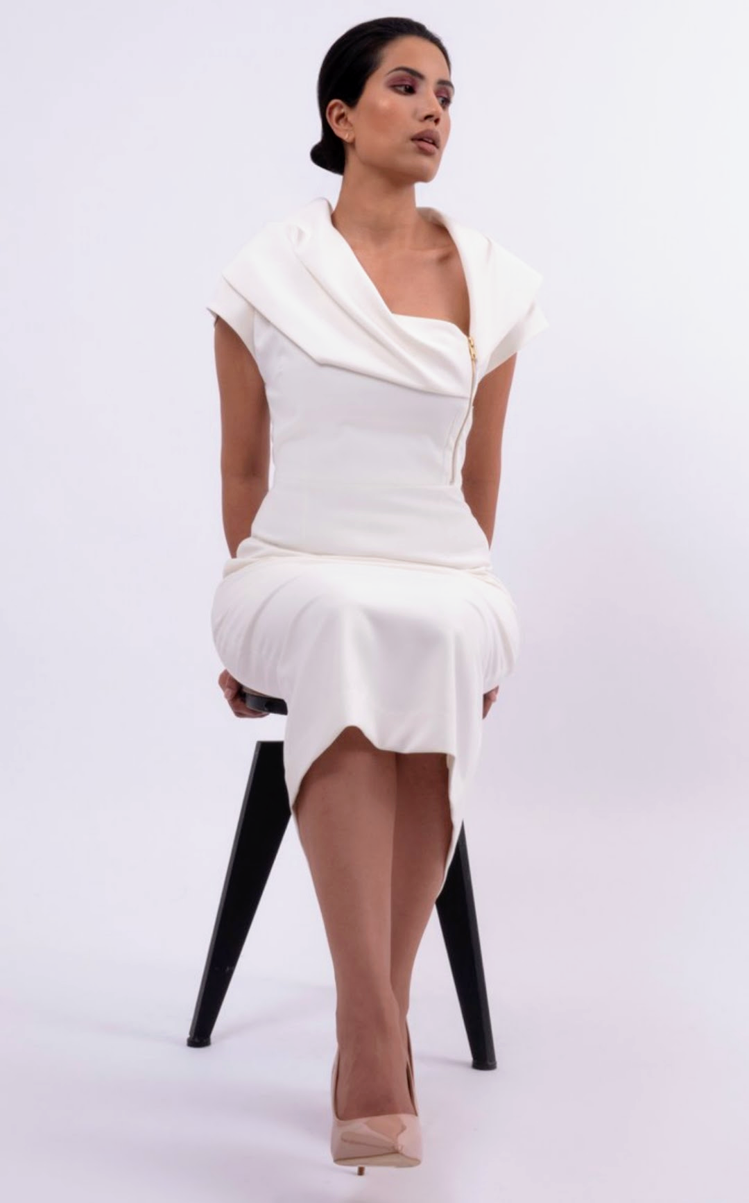 LYL Madam dress in ivory