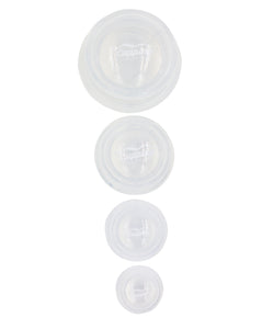 Hard/Stationary Applications Silicone Cup Set (Single Set)