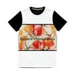 sainted tainted rose Classic Sublimation Panel T-Shirt - Sp-oiled!
