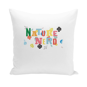 Nature Nerd Collection Throw Pillows - Sp-oiled!