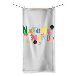 Nature Nerd Collection Sublimation All Over Towel - Sp-oiled!