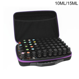 Essential Oil Storage Case, 60 Compartment Case for Travel and Storage