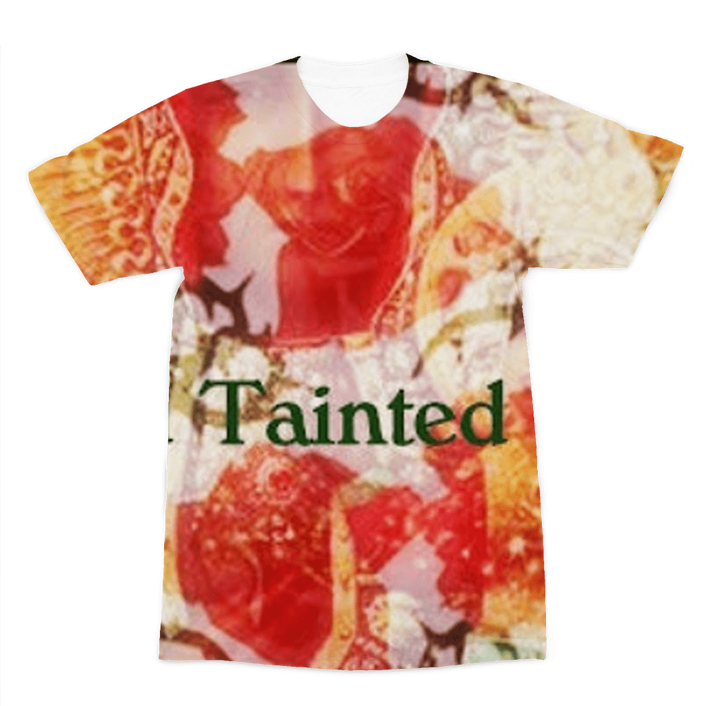 sainted tainted rose Premium Sublimation Adult T-Shirt - Sp-oiled!