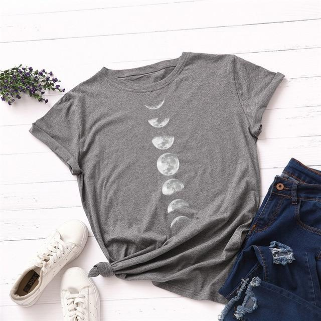 Moon Phases T-Shirt - Sp-oiled!
