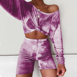 Two Piece Tie Dye Sports Set | I'm Spoiled