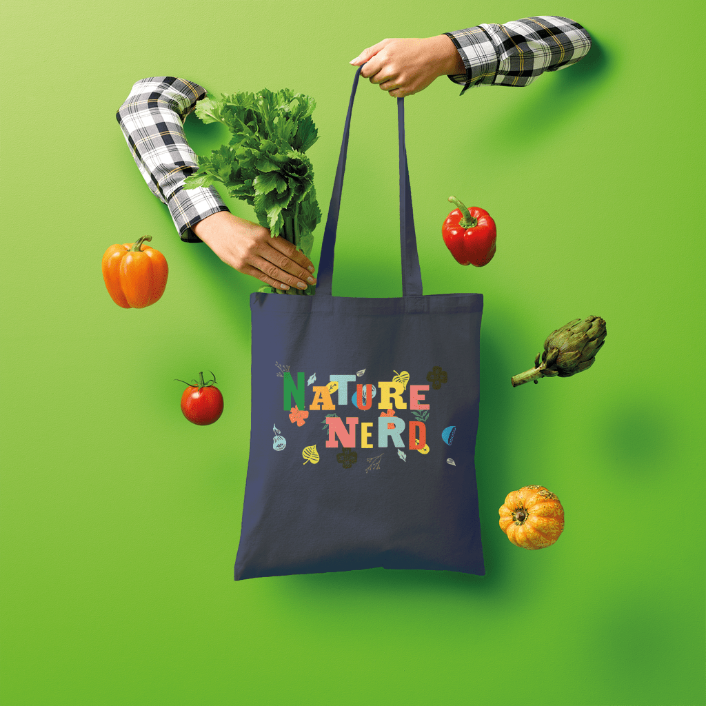 Nature Nerd Collection Shopper Tote Bag - Sp-oiled!