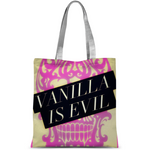 vanilla is evil Classic Sublimation Tote Bag - Sp-oiled!